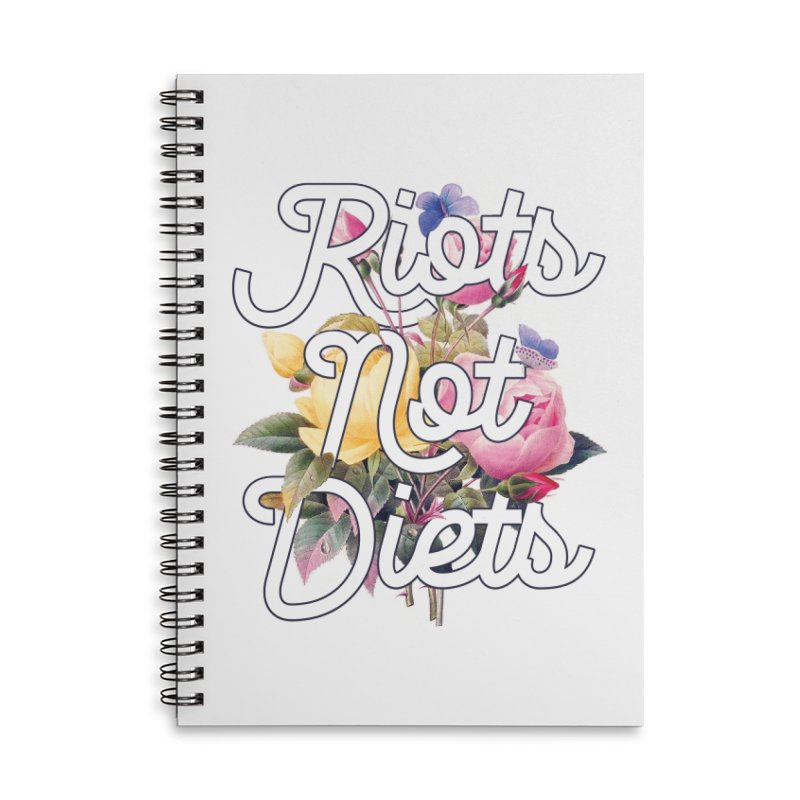 Riots Not Diets Accessories Notebook by BadNewsB