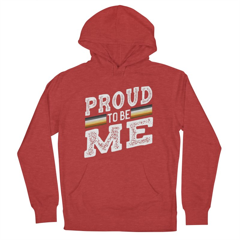 Proud To Be Me, A Gay Bear Men's French Terry Pullover Hoody by The Bearly Brand