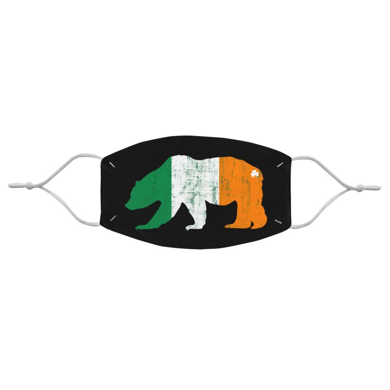 Irish Pride Bear Accessories Face Mask by The Bearly Brand