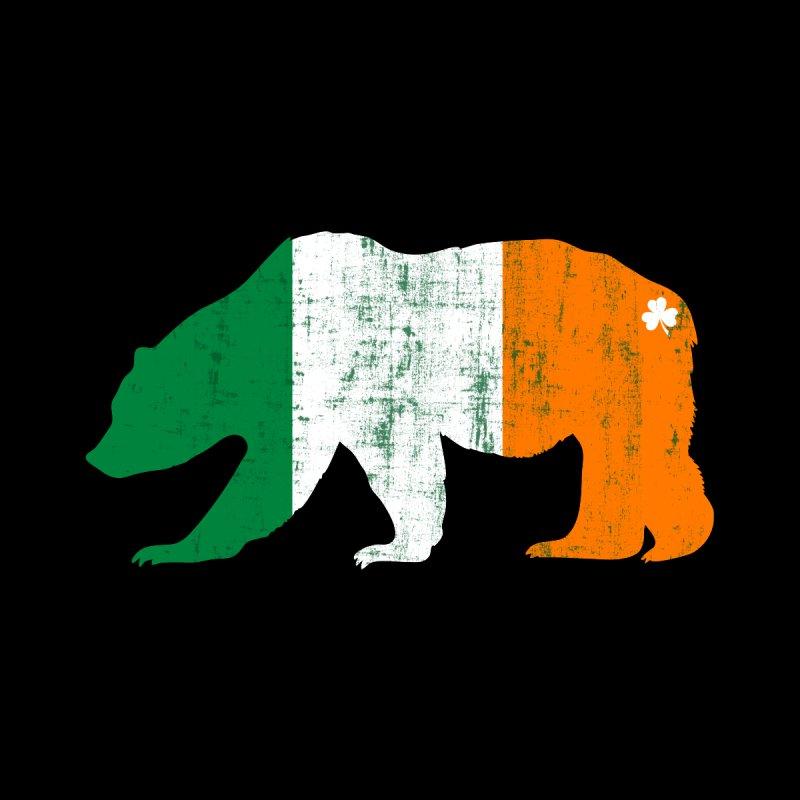 Irish Pride Bear Men's T-Shirt by The Bearly Brand