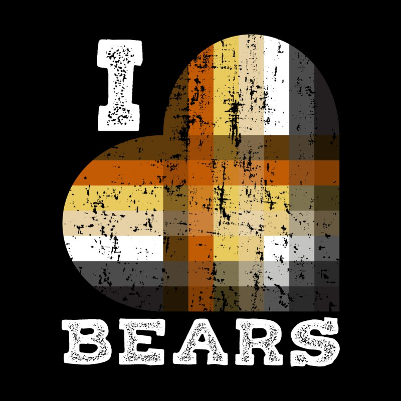 I Love Bears for Gay Bears and Bear Admirers or Chasers Home Blanket by The Bearly Brand
