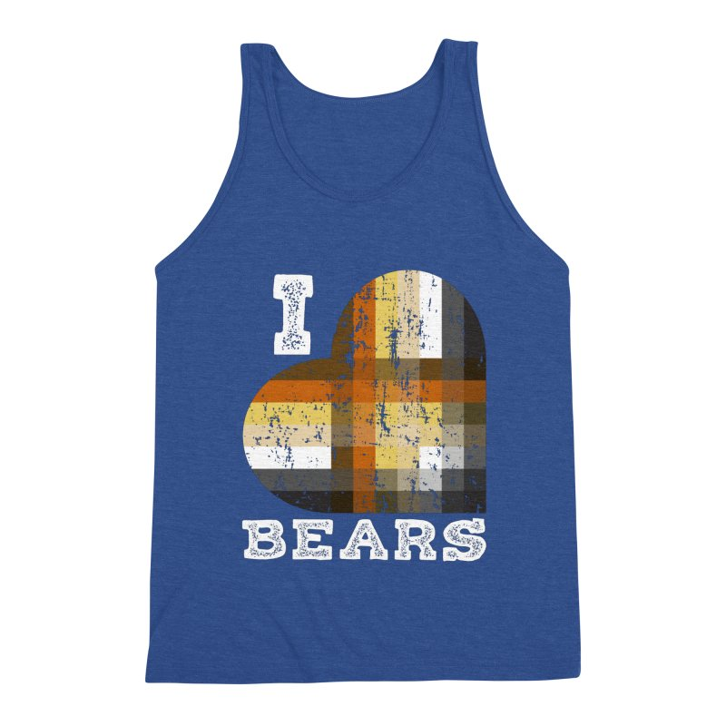 I Love Bears for Gay Bears and Bear Admirers or Chasers Men's Tank by The Bearly Brand