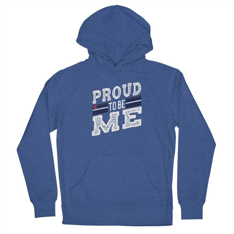 Proud to Be Me Leather Gay Pride LGBTQ Women's Pullover Hoody by The Bearly Brand