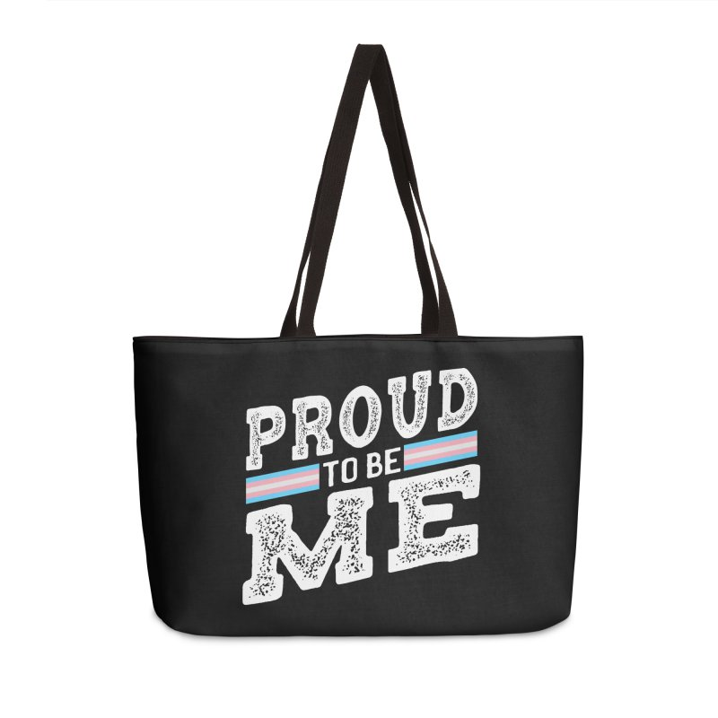Proud to Be Trans Pride LGBT Transgender Accessories Bag by The Bearly Brand