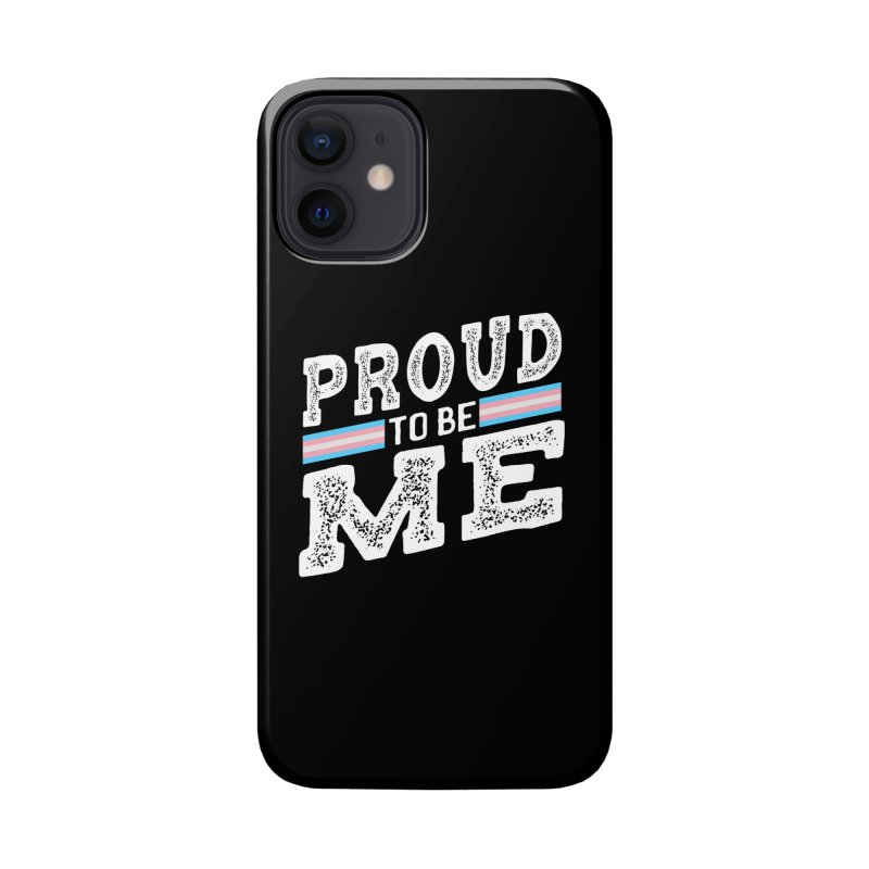 Proud to Be Trans Pride LGBT Transgender Accessories Phone Case by The Bearly Brand