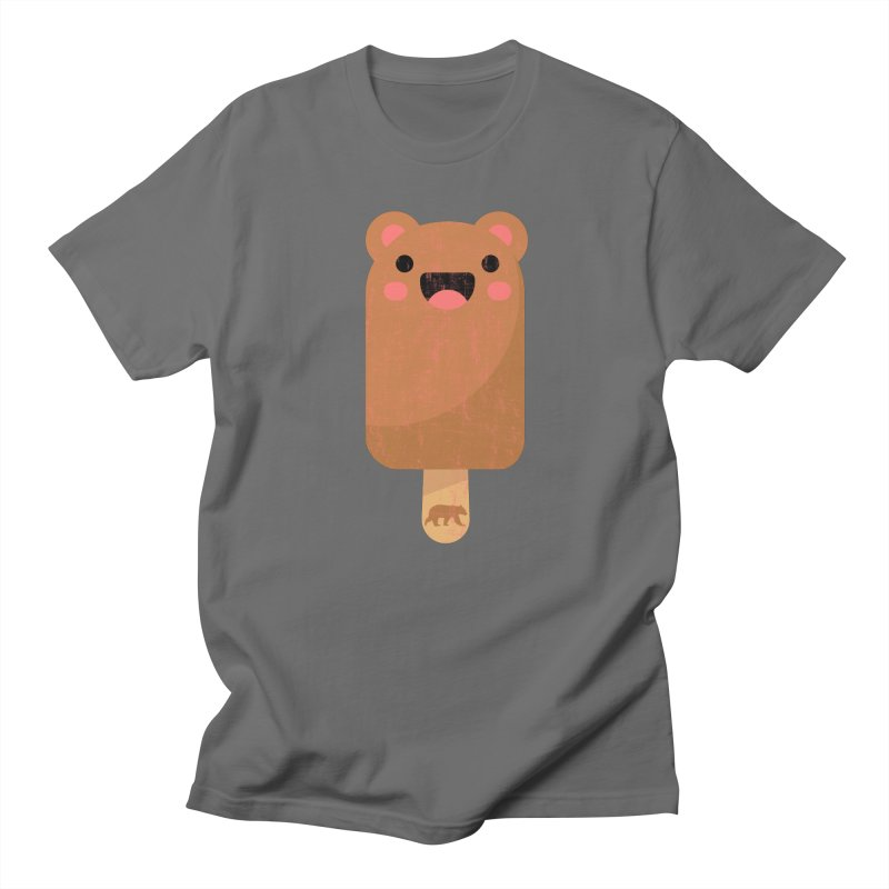 Cute Bear Popsicle for Bear Lovers and Admirers Men's T-Shirt by The Bearly Brand
