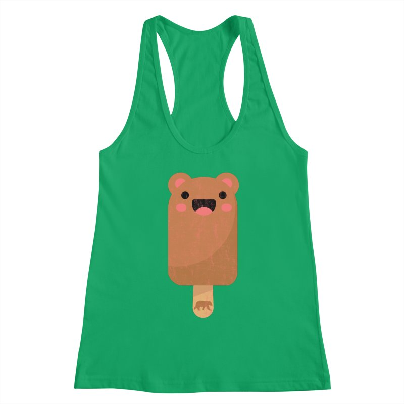 Cute Bear Popsicle for Bear Lovers and Admirers Women's Tank by The Bearly Brand