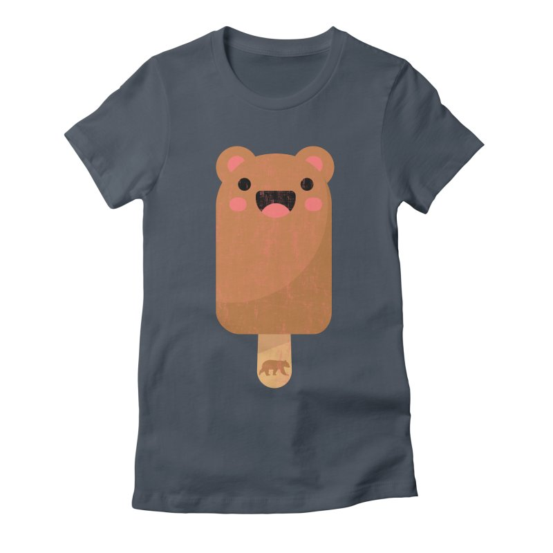 Cute Bear Popsicle for Bear Lovers and Admirers Women's T-Shirt by The Bearly Brand