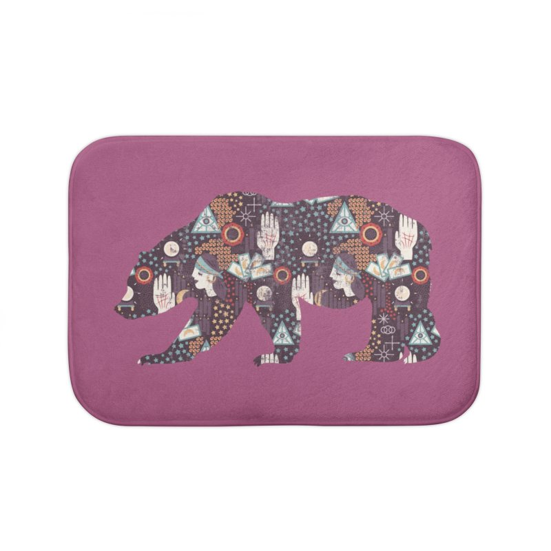 Fortune Teller Mystic Bear Psychic Home Bath Mat by The Bearly Brand