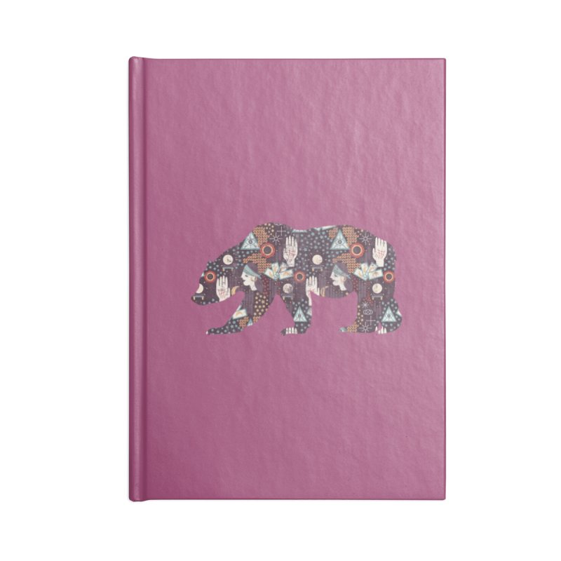 Fortune Teller Mystic Bear Psychic Accessories Notebook by The Bearly Brand