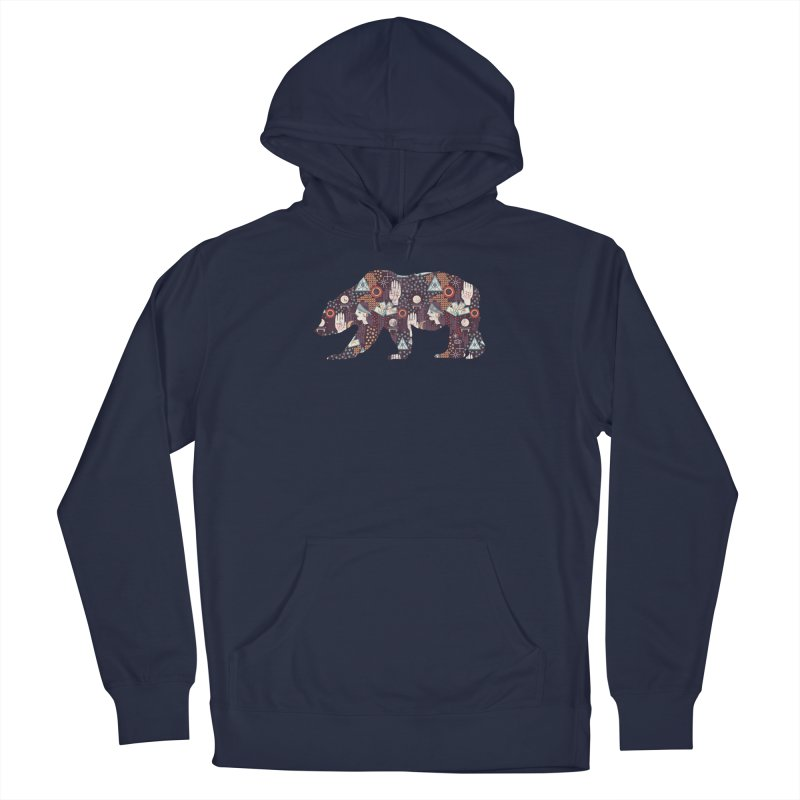 Fortune Teller Mystic Bear Psychic Men's Pullover Hoody by The Bearly Brand
