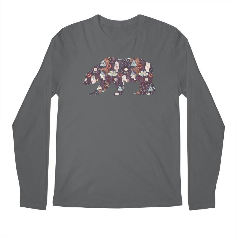 Fortune Teller Mystic Bear Psychic Men's Longsleeve T-Shirt by The Bearly Brand