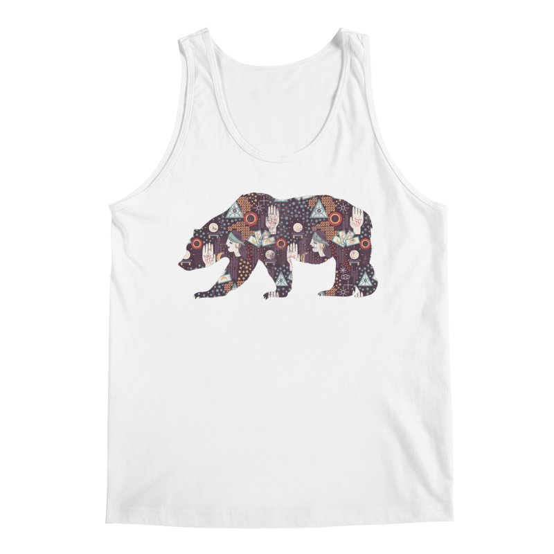 Fortune Teller Mystic Bear Psychic Men's Tank by The Bearly Brand