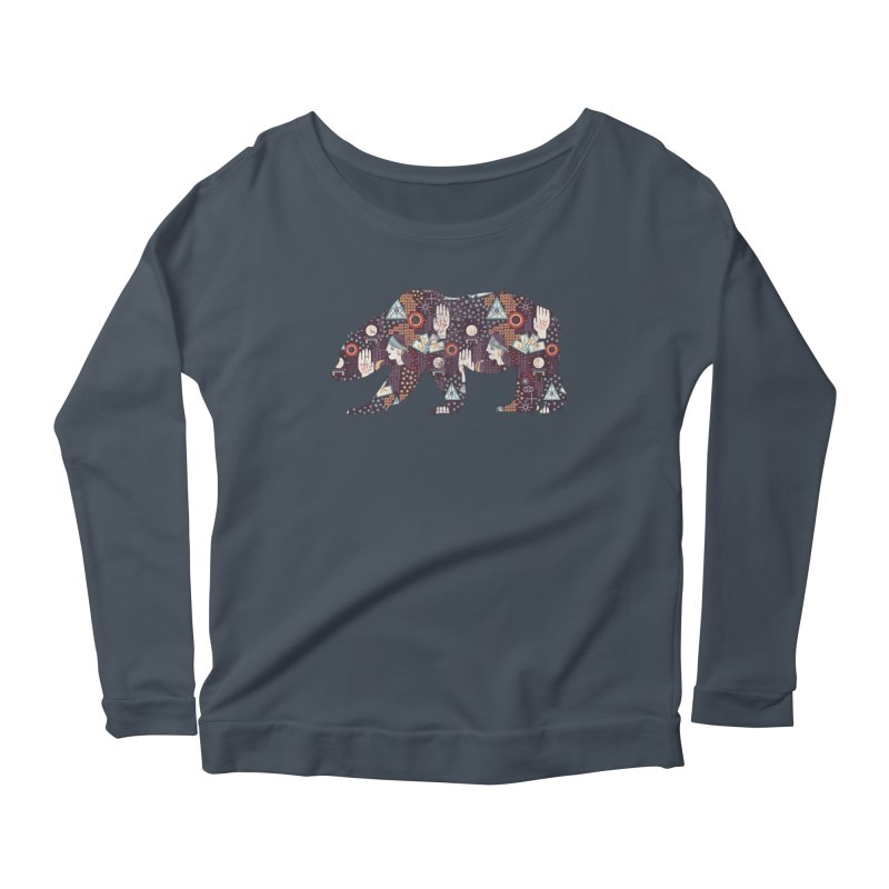 Fortune Teller Mystic Bear Psychic Women's Longsleeve T-Shirt by The Bearly Brand