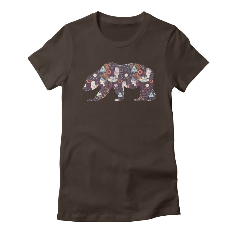 Fortune Teller Mystic Bear Psychic Women's T-Shirt by The Bearly Brand
