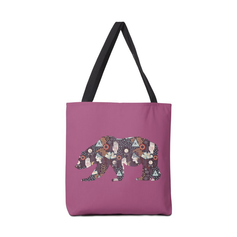 Fortune Teller Mystic Bear Psychic Accessories Bag by The Bearly Brand
