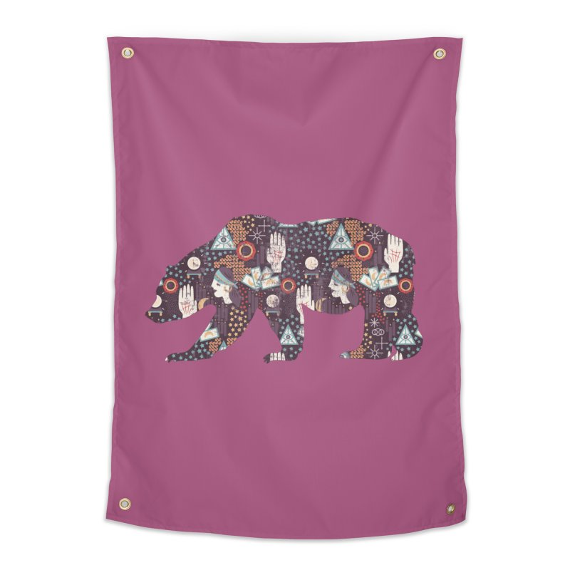 Fortune Teller Mystic Bear Psychic Home Tapestry by The Bearly Brand