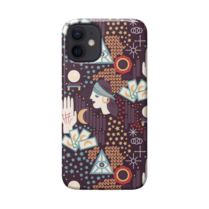 Fortune Teller Mystic Bear Psychic Accessories Phone Case by The Bearly Brand