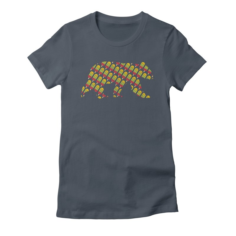 Summer Popsicle Fruit Bar Bear Pattern Women's T-Shirt by The Bearly Brand