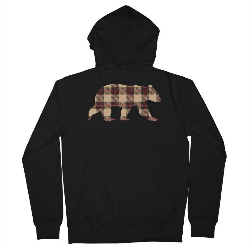 Furbeary Bear Men's Zip-Up Hoody by The Bearly Brand