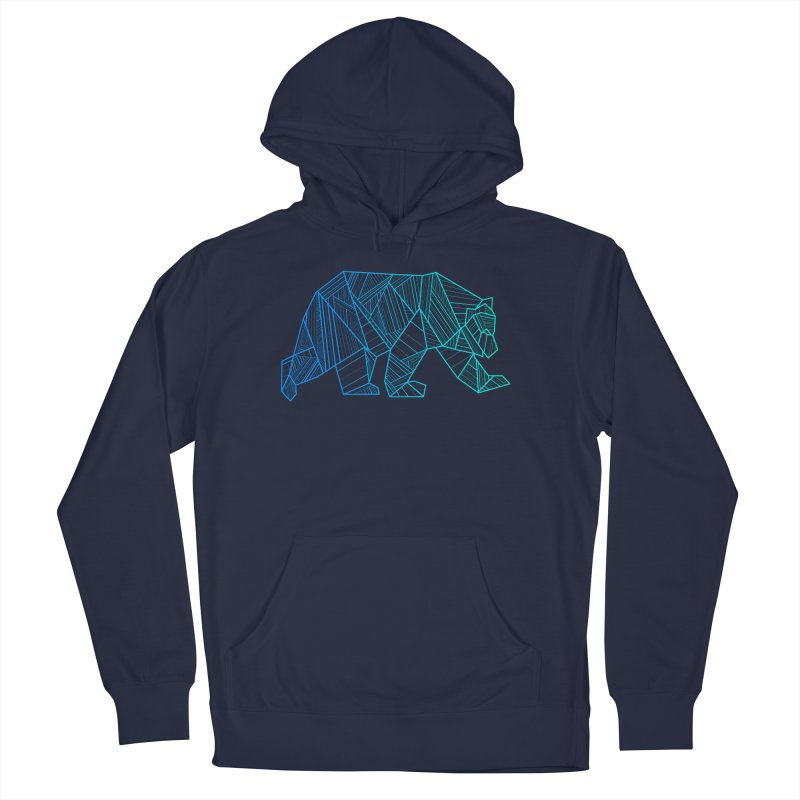 Geometric Bear Men's Pullover Hoody by The Bearly Brand