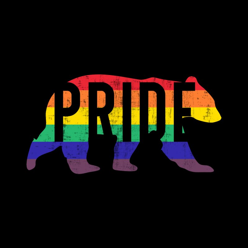 Gay Bear Pride Festival for LGBTQ+ Men's T-Shirt by The Bearly Brand