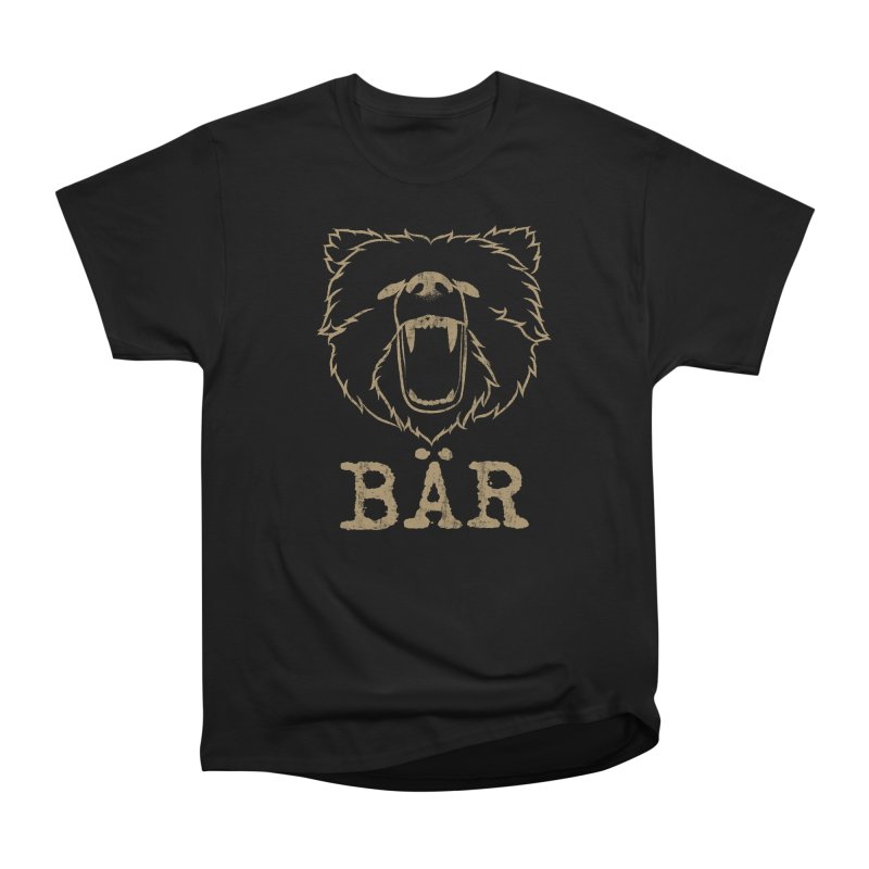 German Bear Men's Heavyweight T-Shirt by The Bearly Brand