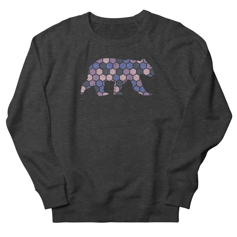 Honeycomb Bear Women's Sweatshirt by The Bearly Brand