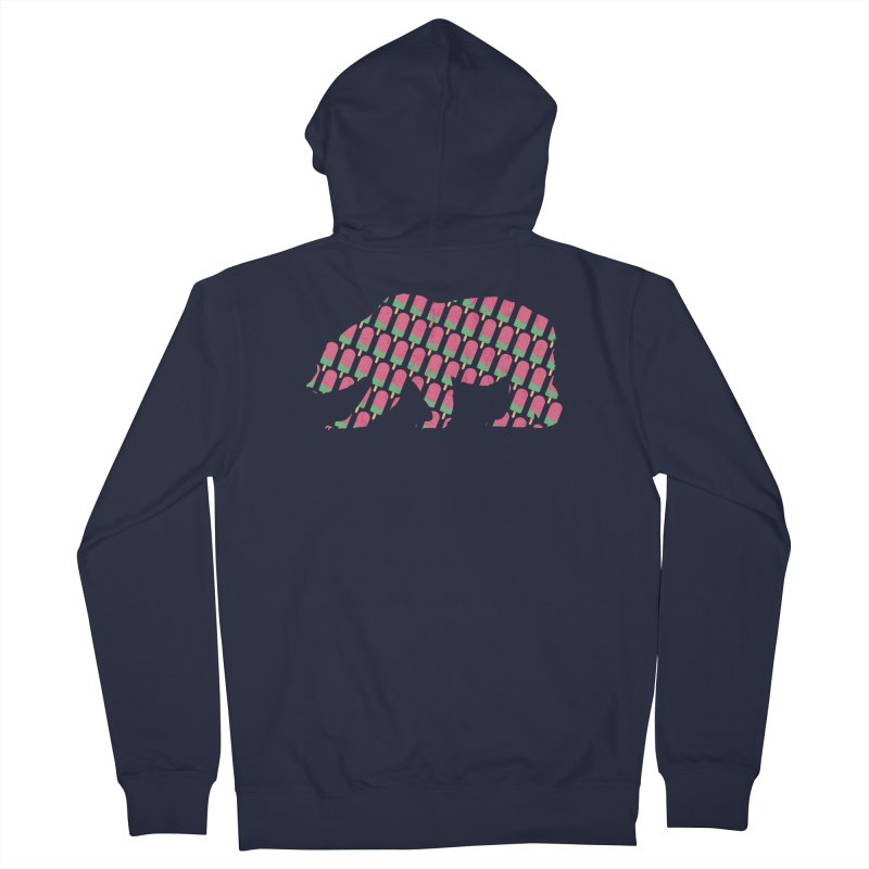 Popsicle Bear Women's Zip-Up Hoody by The Bearly Brand