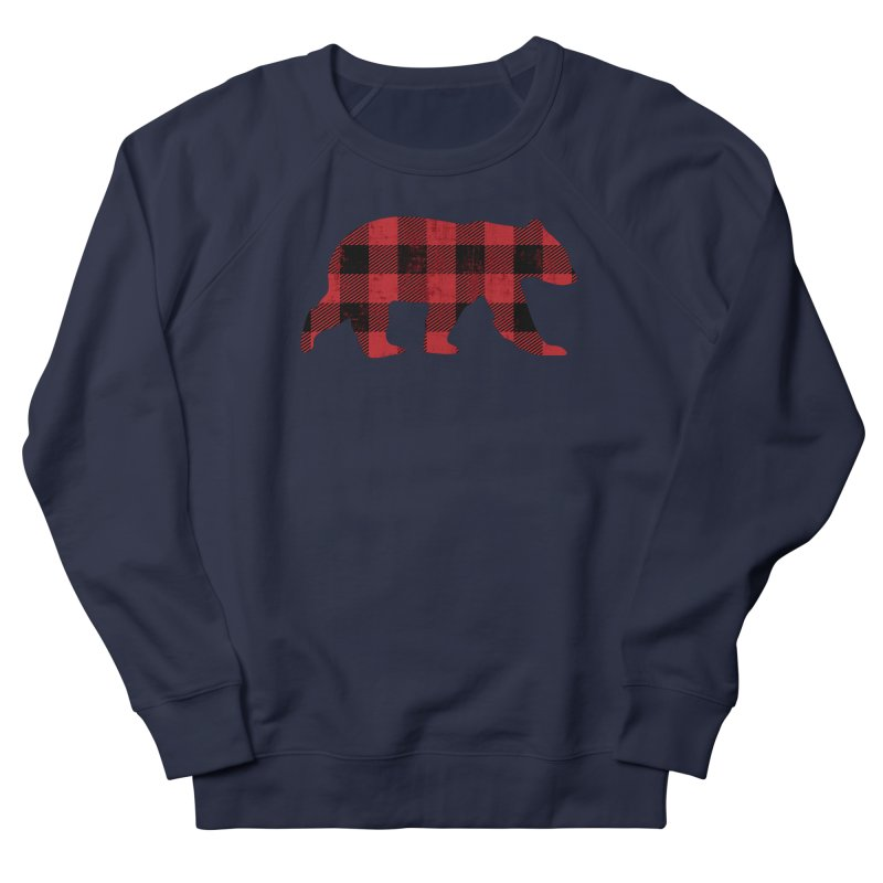 Red Flannel Bear Men's Sweatshirt by The Bearly Brand