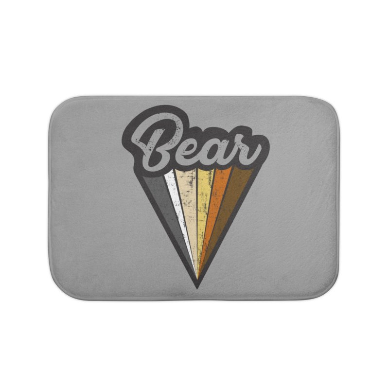 Gay Bear Pride Home Bath Mat by The Bearly Brand