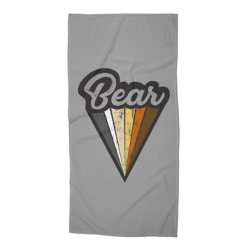 Gay Bear Pride Accessories Beach Towel by The Bearly Brand
