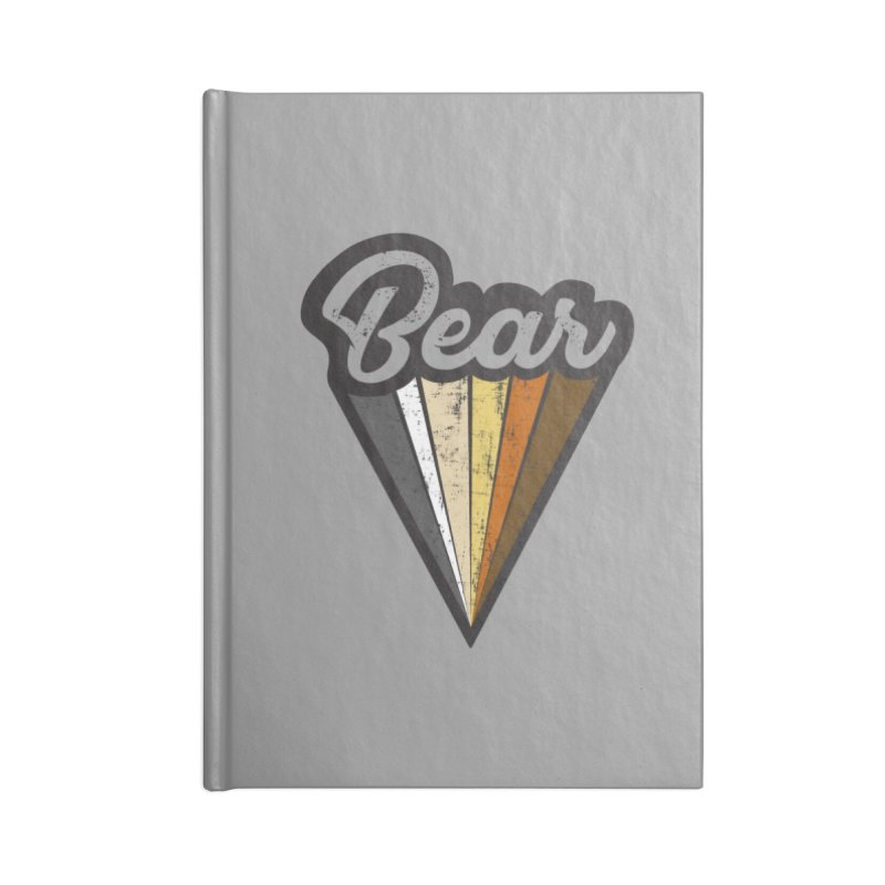 Gay Bear Pride Accessories Notebook by The Bearly Brand
