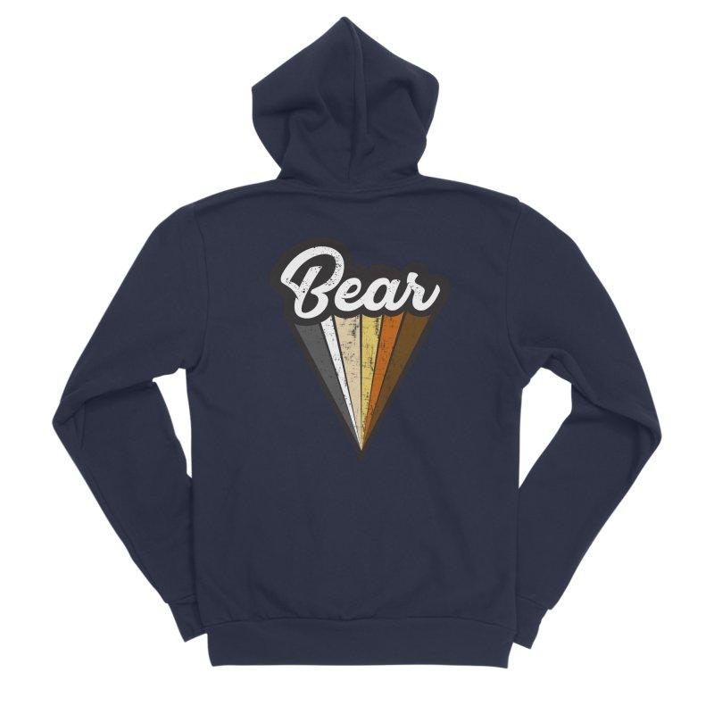Gay Bear Pride Men's Sponge Fleece Zip-Up Hoody by The Bearly Brand