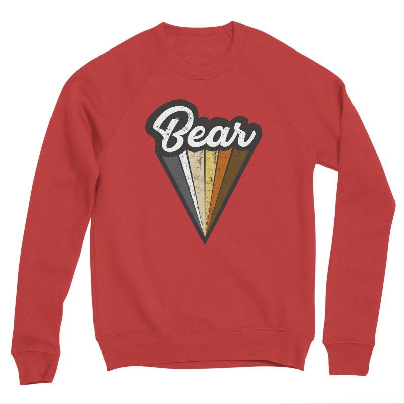 Gay Bear Pride Men's Sponge Fleece Sweatshirt by The Bearly Brand