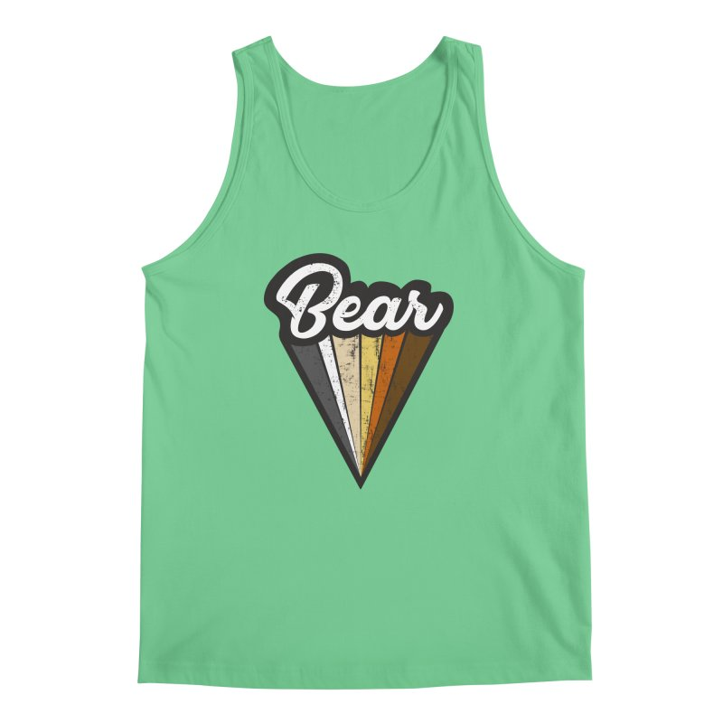 Gay Bear Pride Men's Regular Tank by The Bearly Brand