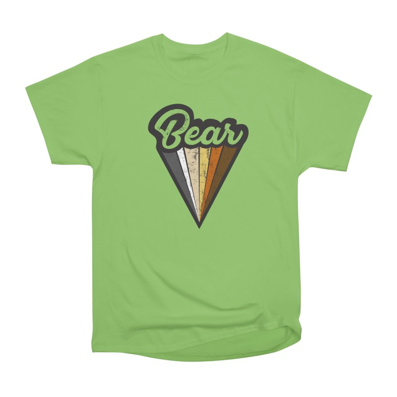 Bear Pride Men's Heavyweight T-Shirt by The Bearly Brand