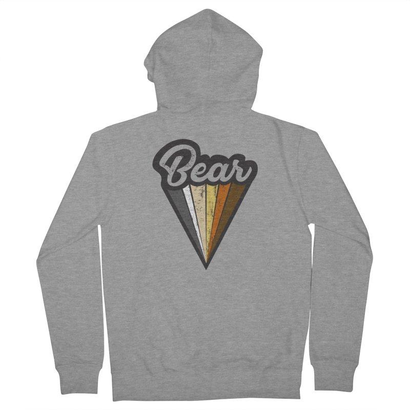 Bear Pride Men's Zip-Up Hoody by The Bearly Brand