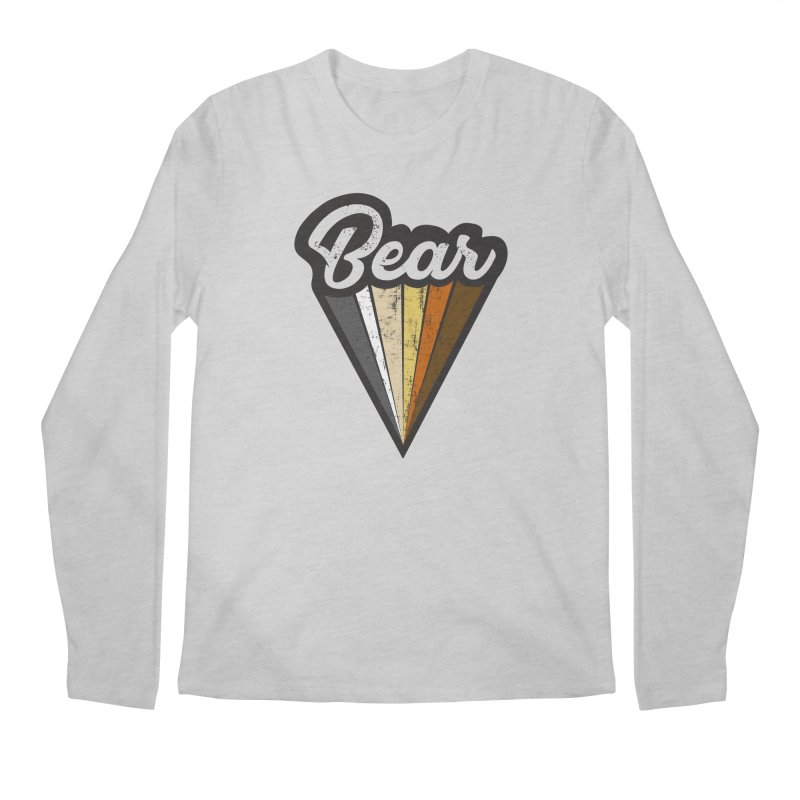 Bear Pride Men's Longsleeve T-Shirt by The Bearly Brand