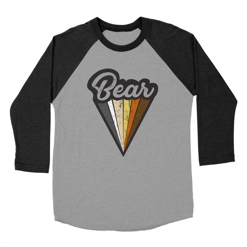 Bear Pride Men's Baseball Triblend T-Shirt by The Bearly Brand