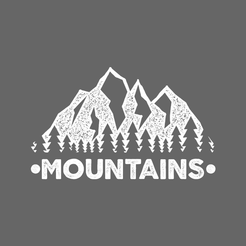 I Love Mountain Life for Hiking Enthusiasts and Camping Life Men's T-Shirt by The Bearly Brand