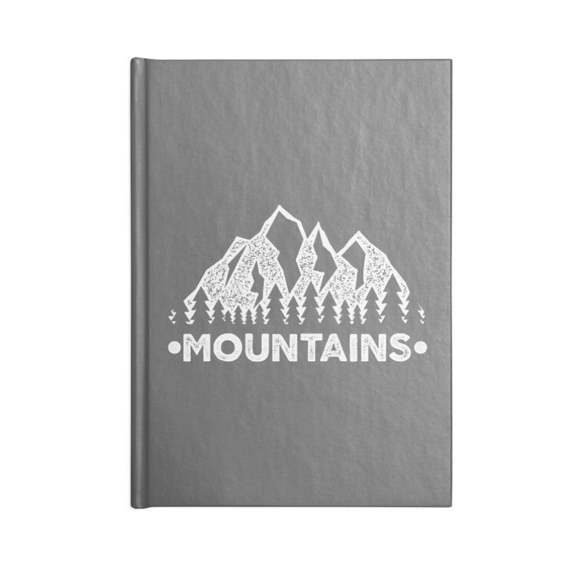 Mountains Accessories Notebook by The Bearly Brand
