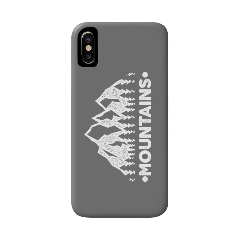 Mountains Accessories Phone Case by The Bearly Brand