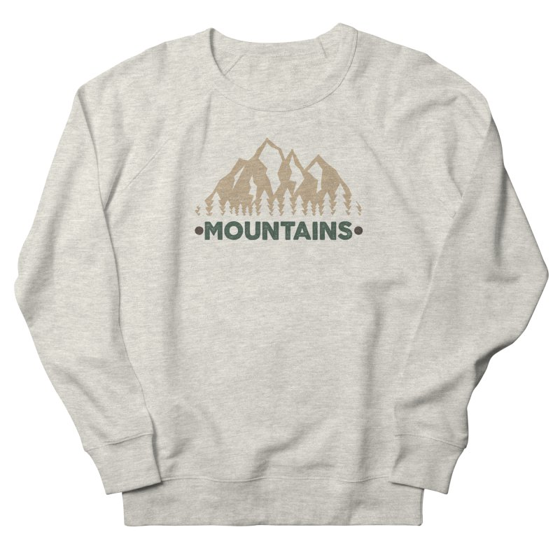 Mountains Women's Sweatshirt by The Bearly Brand