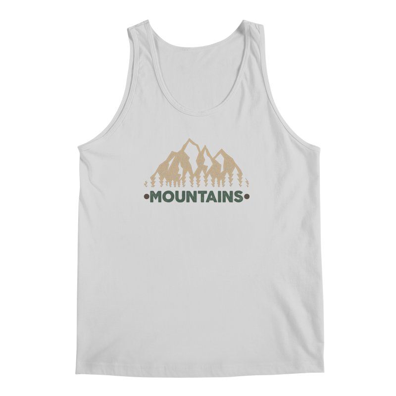 Mountains Men's Tank by The Bearly Brand