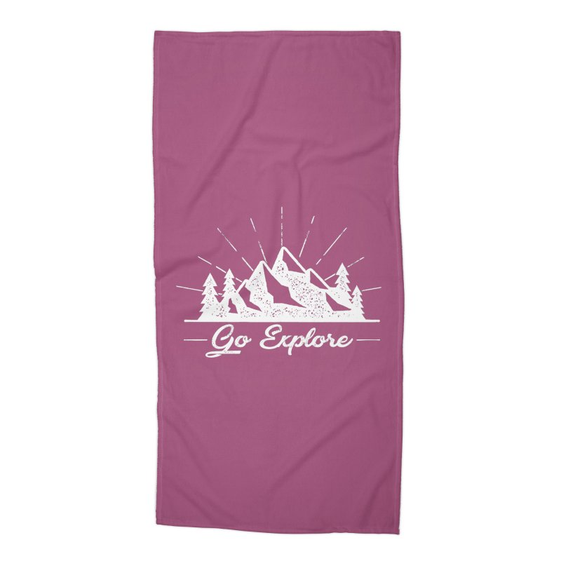 Go Explore Accessories Beach Towel by The Bearly Brand