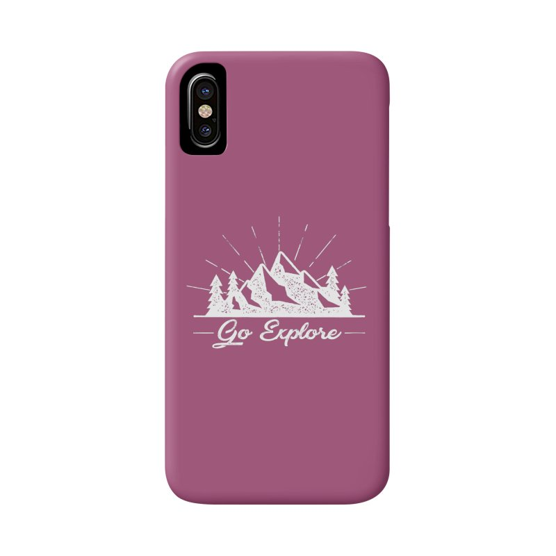 Go Explore Accessories Phone Case by The Bearly Brand