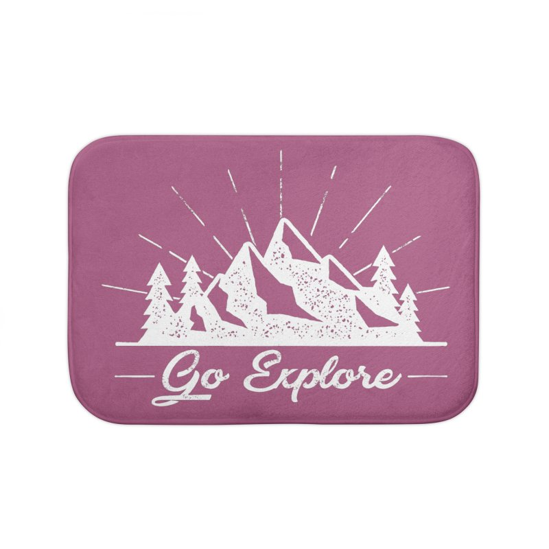 Go Explore Home Bath Mat by The Bearly Brand