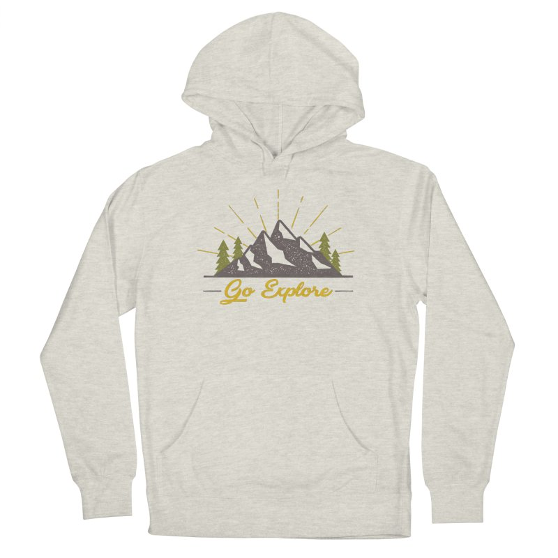 Go Explore Men's Pullover Hoody by The Bearly Brand