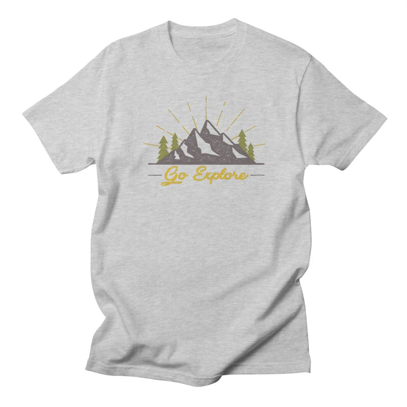 Go Explore Women's Unisex T-Shirt by The Bearly Brand